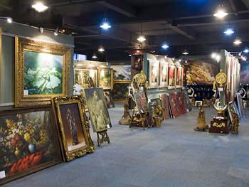 oil painting gallery