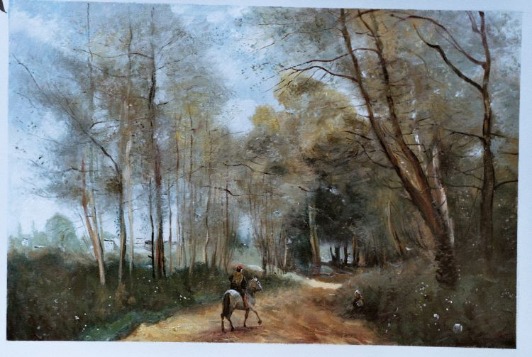 Oil Paintings Corot Reproductions