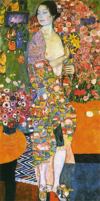 Klimt Oil Painting Reproductions- The Dancer