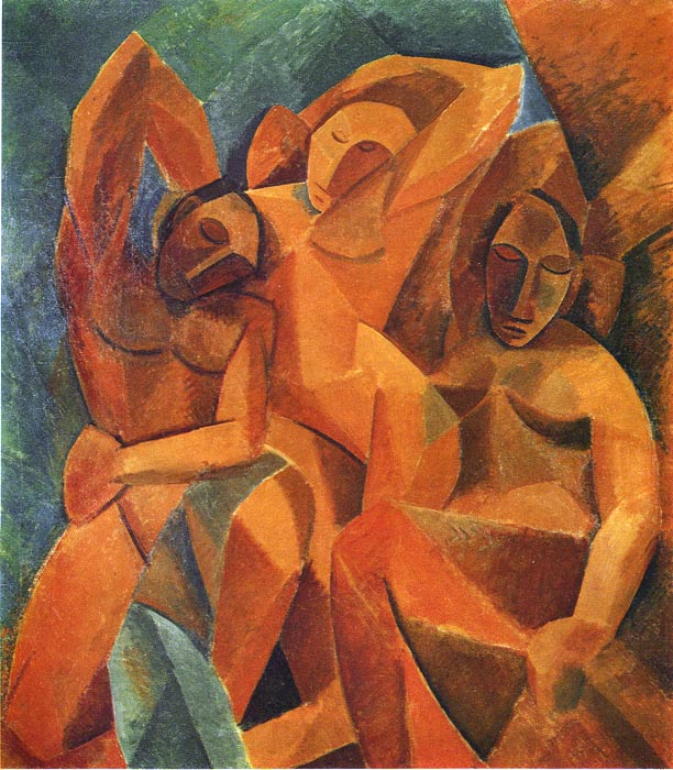 Picasso Oil Painting Reproductions - Three Women