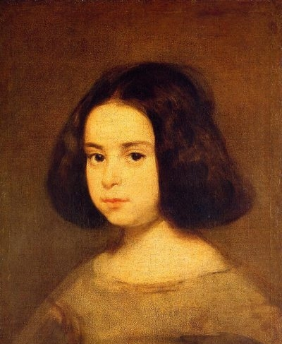 Portrait of a Little Girl - Oil Painting Reproduction