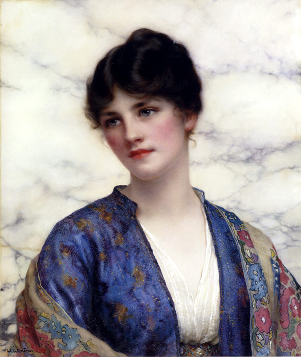Wontner Oil Painting Reproductions - Valeria