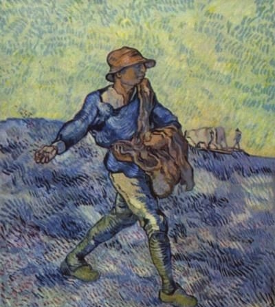 The Sower - Oil Painting Reproduction