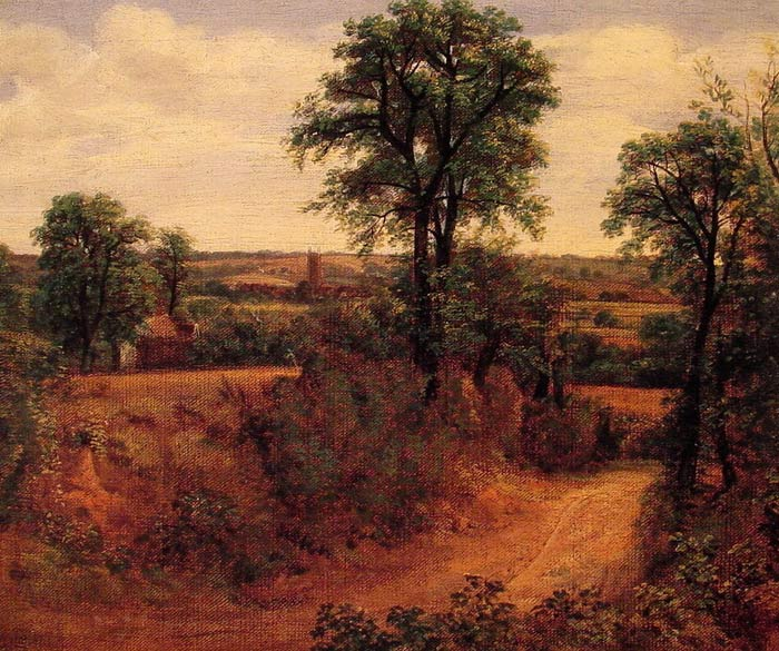 Landscape with the Ruins of Mount Palatine in Rome - Oil Painting Reproduction