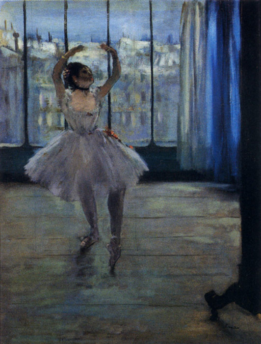 Oil Painting Reproduction of Degas- Dancer At The Photographers Studio