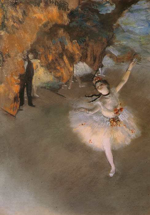 Oil Painting Reproduction of Degas- LEtoile