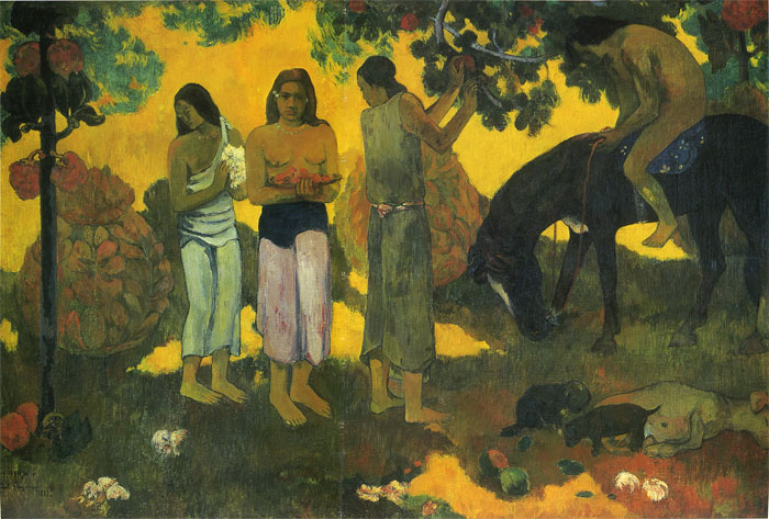 Oil Painting Reproduction of Gauguin- Ruperupe