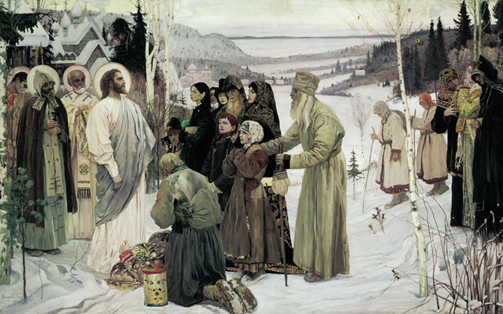 Oil Painting Reproduction of Nesterov - Saint Rus