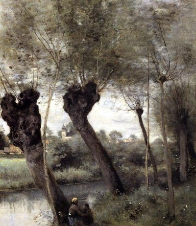 On the Banks of the Scarpe - Oil Painting Reproduction