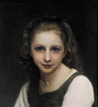 Portrait of a Young Girl - Oil Painting Reproduction
