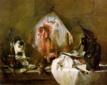 Ray painting, a Jean Baptiste Simeon Chardin paintings reproduction, we never sell Ray poster