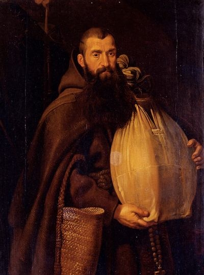 Saint Felix of Cantalice - Oil Painting Reproduction