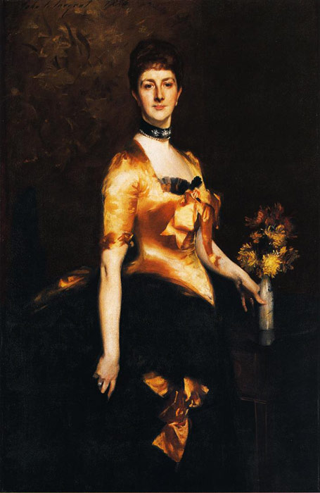 Sargent Oil Painting Reproductions - Lady Playfair