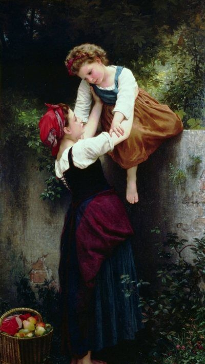 Sewing - Oil Painting Reproduction