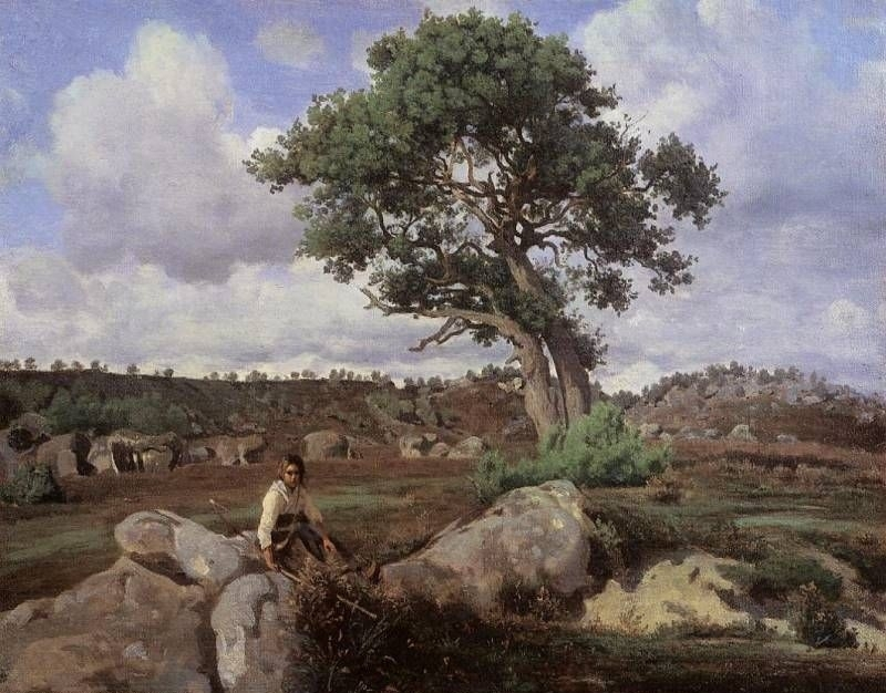The Roman Campagna with the Claudian Aqueduct - Oil Painting Reproduction