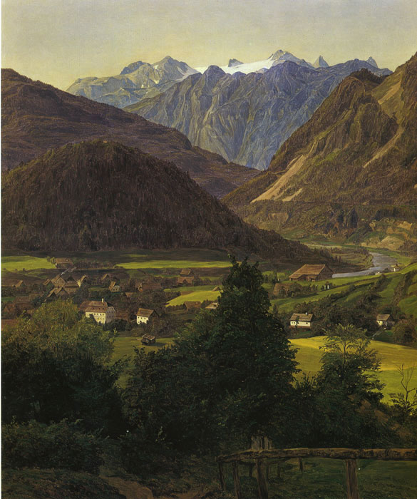 Waldmuller Oil Painting Reproductions- Landscape