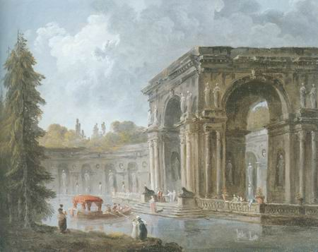arch bridge painting, a knife painters paintings reproduction, we never sell arch bridge poster