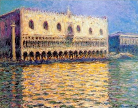 venice painting, a Claude Monet paintings reproduction, we never sell venice poster