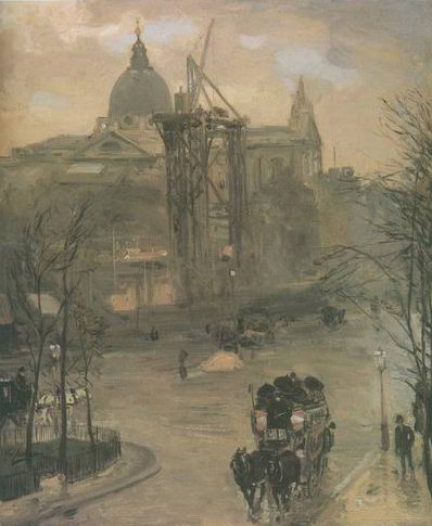 The Construction of South Kensington Museum painting, a alexander Jamieson paintings reproduction,