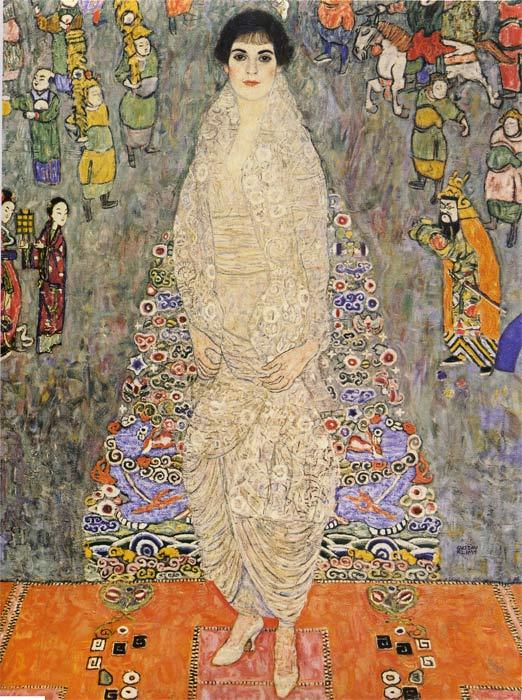 Oil Painting Reproduction of Klimt- Portrait of Baroness Elisabeth Bachofen-Echt