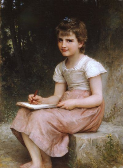 A calling - Oil Painting Reproduction
