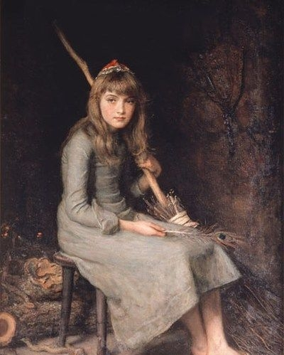 Cinderella - Oil Painting Reproduction