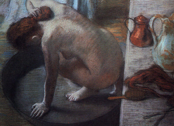 Degas Oil Painting Reproductions- The Tub