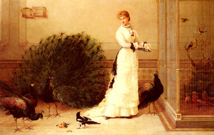 Hardy Oil Painting Reproductions - The Aviary