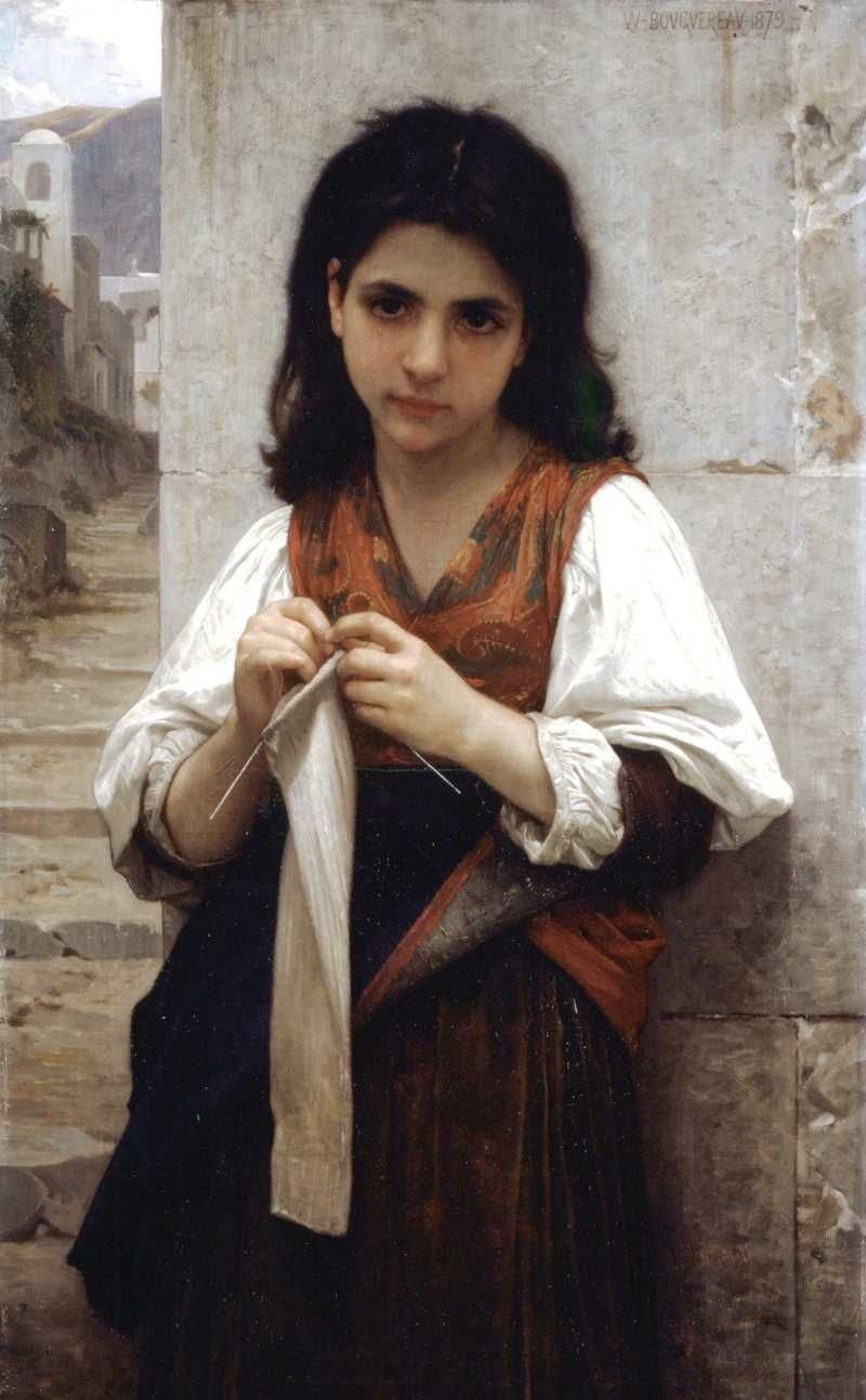 Innocence - Oil Painting Reproduction