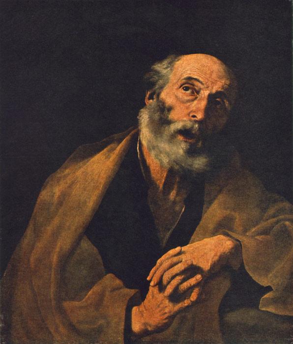 Jusepe de Ribera Oil Painting Reproductions - St Peter
