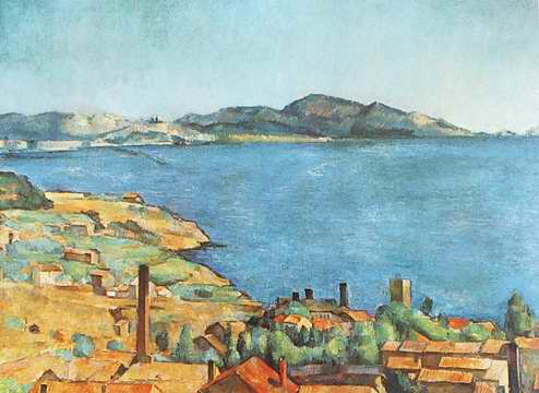 LEstaque painting, a Paul Cezanne paintings reproduction, we never sell LEstaque poster