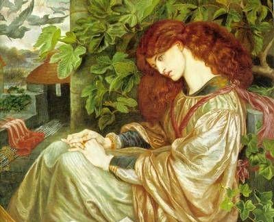 La Pia de Tolomei - Oil Painting Reproduction