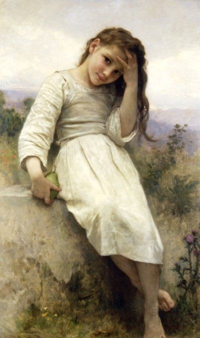 Little Thief - Oil Painting Reproduction