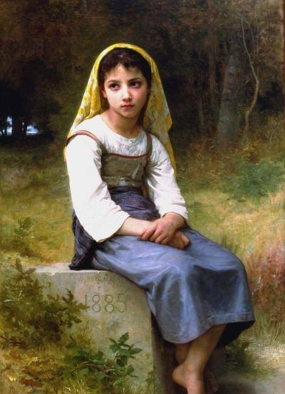 Meditation - Oil Painting Reproduction