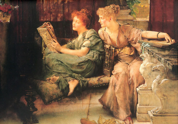 Oil Painting Reproduction of Alma-Tadema - Comparisons
