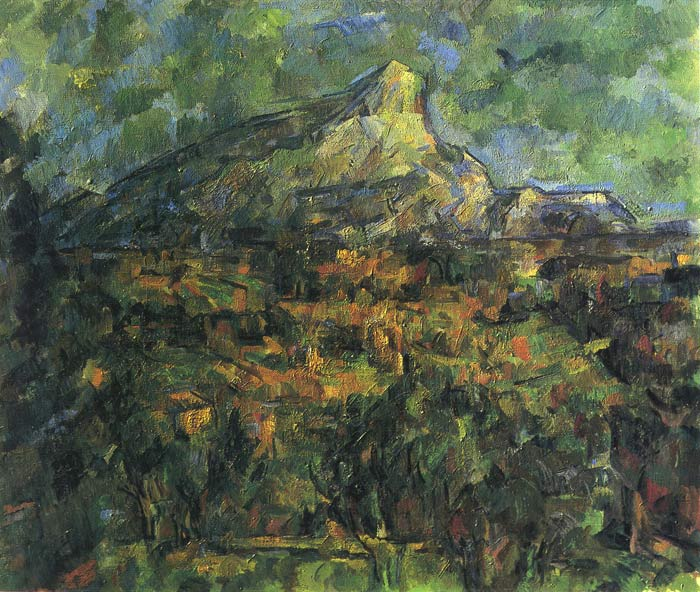 Oil Painting Reproduction of Cezanne-Mt. Sainte-Victorie