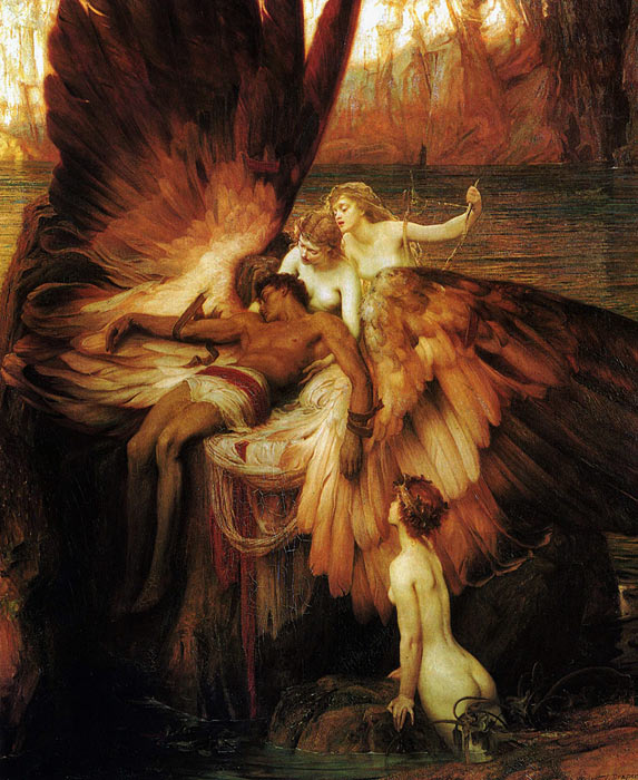 Oil Painting Reproduction of Draper- Lament for Icarus