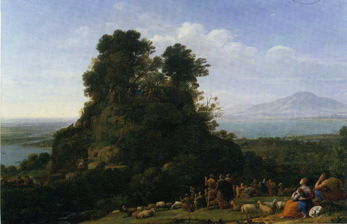 Oil Painting Reproduction of Inness- Italian Landscape with Adueduct