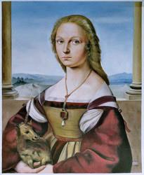 Oil Painting Reproduction of Ortega- Le Pont Vert