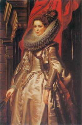 Portrait of Marchesa Brigida Spinola Doria. painting, a Peter Paul Rubens paintings reproduction, we