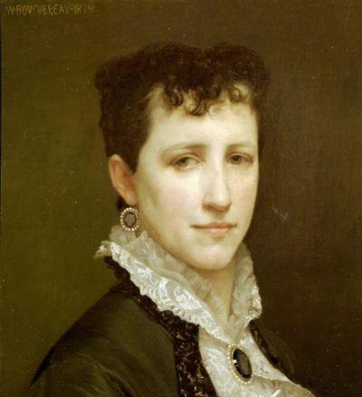 Porttrait of Miss Elizabeth Gardner - Oil Painting Reproduction