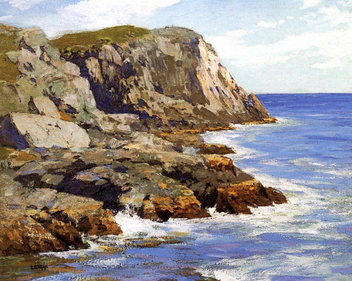 Potthast Oil Painting Reproductions - Monhegan