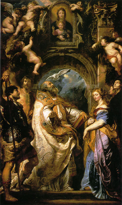 Rubens Oil Painting Reproductions- Saint Gregorie