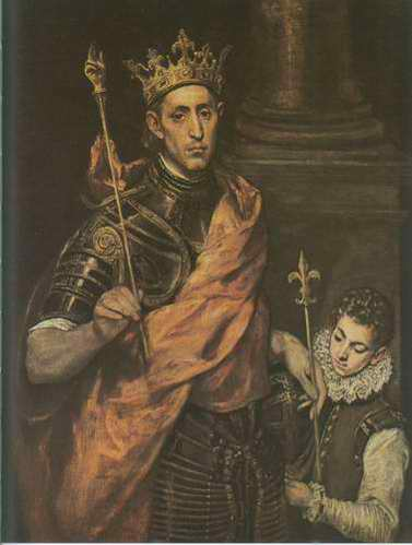 St. Louis King of France with a Page painting, a El Greco paintings reproduction, we never sell St.