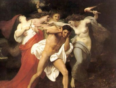 The Remorse of Orestes - Oil Painting Reproduction