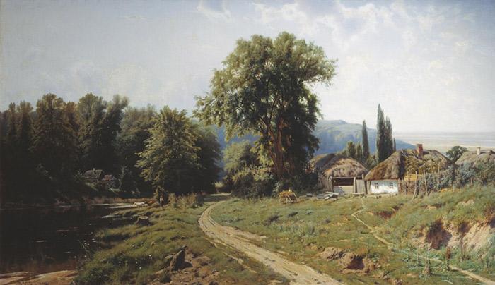 The Yerres, Rain ?lgem?lde, a Gustave Caillebotte, 1848,1894 ?lgem?lde Reproduktion, we never sell