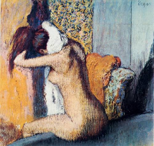 dring the hair painting, a Edgar Degas paintings reproduction, we never sell dring the hair poster