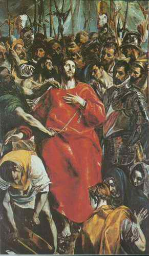 Disrobing of Christ painting, a El Greco paintings reproduction, we never sell Disrobing of Christ