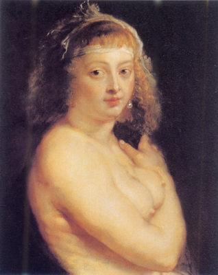 Helene Fourment in the fur painting, a Peter Paul Rubens paintings reproduction, we never sell
