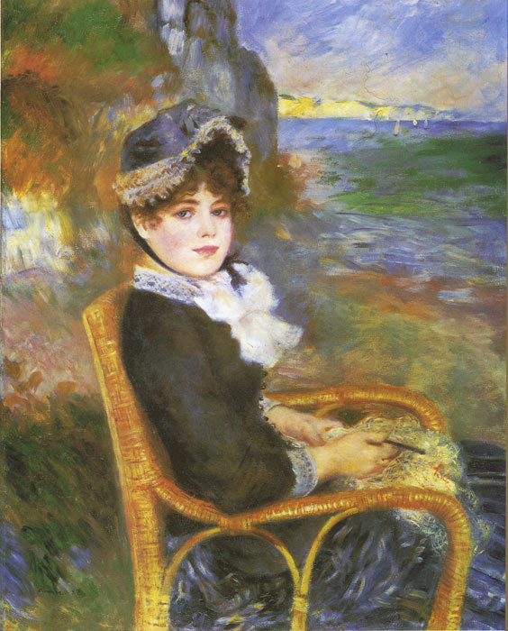Renoir Oil Painting Reproductions- By the Seashore